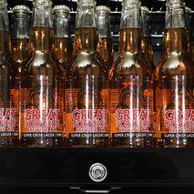 Schmick Black Quiet Bar Fridge - Nice Black Finish, LOW E Glass To Prevent Condensation