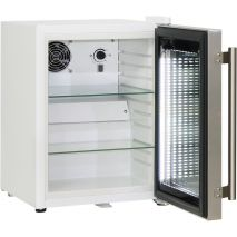 Cosmetics / Drinks Mini Bar Fridge All White With Stainless Door