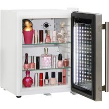 Cosmetics / Drinks Mini Bar Fridge - Led Strip Lights