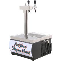Home Brew Beer Dispenser - Light Box Can Br Branded With Your Slogan No Extra Charge