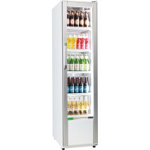 Rhino Skinny Upright Commercial Bar Fridge - Bottom Light Can Be Branded
