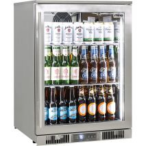 Rhino Envy 1 Door Alfresco Outdoor Glass Door Bar Fridge  Model ENV1R-SS
