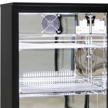 Quiet Running Indoor Rhino Bar Fridge Model SG1Q-Combo Low Energy Consumption And Mirror Polished 304 Stainless Steel Interior