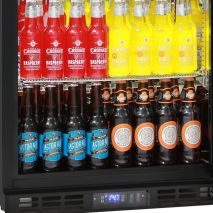 Quiet Running Indoor Rhino Bar Fridge Model SG1Q-Combo - Low E glass helps prevent condensation