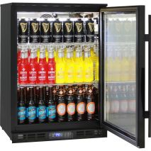 Quiet Running Indoor Rhino Bar Fridge Model SG1R-BQ - Wine Shelving Available