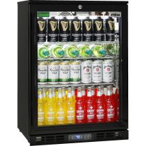 Quiet Running Indoor Rhino Bar Fridge Model SG1R-BQ - LOW E Glass To Prevent Condensation