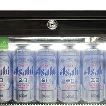 Rhino 2 Door Commercial Glass Door Bar Fridge  - Lockable