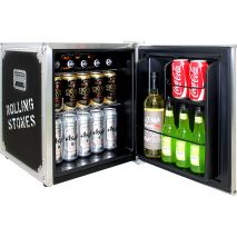 Rolling Stones Mini Bar Fridge - Roadie Case Design Is Pretty Sweet