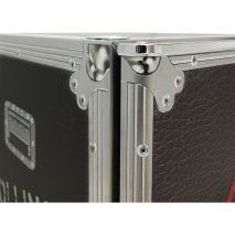 Roadie Case Mini Bar Fridge - Stainless Steel Body Uniquely Painted In The Case Design