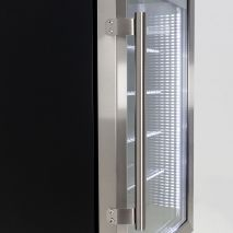 Alfresco Glass Door Drinks Fridge - Available in Left Hinged As Well, MODEL HUS-SC88L-SS2