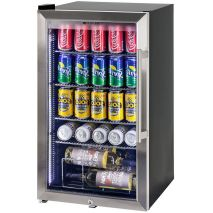 Alfresco Glass Door Drinks Fridge - Wine Shelf Available On Request