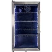 Alfresco Glass Door Drinks Fridge - Elegant Sleek Design