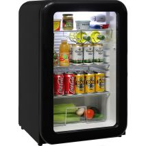 Schmick Black Retro 110Litre Bar Fridge