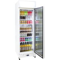 Schmick 1 Glass Door Commercial Bar Fridge - Extra Shelves When You Have Smaller Drinks (See right of pics to add) unit supplied with 4