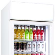 Schmick 1 Glass Door Commercial Bar Fridge - Lightbox