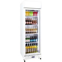 Schmick Upright 1 Door Commercial Glass Front Bar Fridge