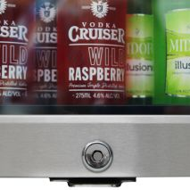 Schmick Shallow Depth Mini Fridge HUS-SC35-SS Lockable