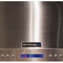 Stainless Steel Alfresco Range Hood - Touch Button Controls Light On/Off Fan 3 Speed and Power