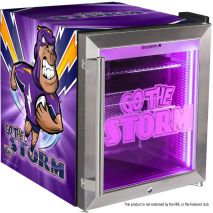 Melbourne Storm branded bar fridge
