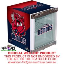 Weg Art Mini Fridge Melbourne Demons