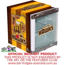Weg Art Mini Fridge Hawthorn Hawks