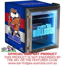 Bulldogs Footy Club Weg Art Bar Fridge