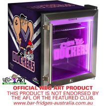Dockers Footy Club Weg Art Bar Fridge