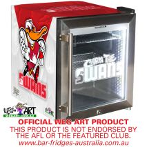 Swans Footy Club Weg Art Bar Fridge