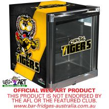 Weg Art Mini Fridge Richmond Tigers