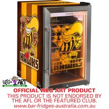 Weg Art Bar Fridge Hawthorn Hawks