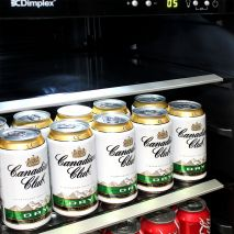 Dimplex Drinks Beer Fridge - Strong Shelving Low Noise