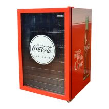Coca Cola Retro Mini Glass Door Bar Fridge Fits About 38Cans