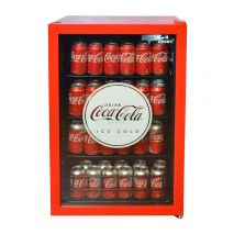Coca Cola Retro Mini Glass Door Bar Fridge Cool retro Design