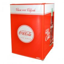 Coca Cola Retro Mini Glass Door Bar Fridge Great For Gift Idea