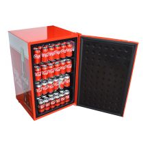 Coca Cola Retro Mini Glass Door Bar Fridge Keeps Things Nice N Cool