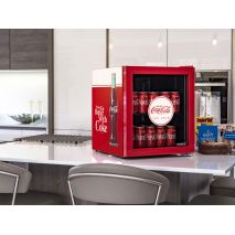 Coca Cola Retro Mini Glass Door Bar Fridge Looks Ptretty neat