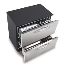 Slide Out Ball Bearing Shelves With Many Storage Options