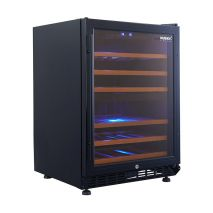 Husky Vino Pro Beer And Wine Fridge HUS-WC54D-BK-ZY