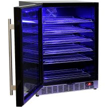 Glass Door Front Venting Beer Fridge With Quiet Operation SK151BG