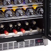 Schmick Beer And Wine Matching Indoor Quiet Running Fridge Combination Model YC151G-Combo - Plenty Of Storage