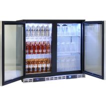 Rhino 2 Door Twin Zone Below Zero Fridge And Glass Froster - Brand Parts And Excellent Function, Easily Meeting Heineken Energy Specification Requirements