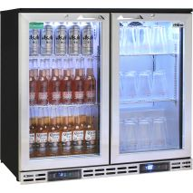 Rhino 2 Door Twin Zone Below Zero Fridge And Glass Froster - So Many Applications