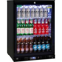 Rhino Nightclub Pub Bar Fridge With Multi LED Light Options -  Plenty Of Storage