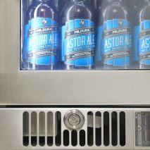 Rhino Envy 1 Door Alfresco Bar Fridge - Locks Are More Robust Than Anything Else On Market