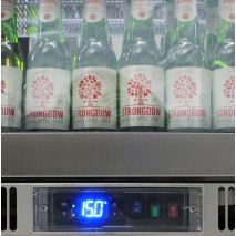 Rhino Envy 3 Door Bar Fridge - German Danfoss Eco Controller