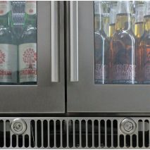 Rhino Envy 3 Door Bar Fridge - We Sourced The Strongest Locks On These Costing 4 x Times Our Normal Standard Lock
