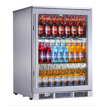 Rhino 1 Door Alfresco Outdoor Glass Door Bar Fridge  Model ENV1R-SS
