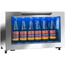 Rhino Commercial Low Bar Fridge - The 'Cool White' Led Light Is Dimmable Which Is A Great Feature