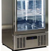 Rhino Commercial Upright 1 Door Pub Beer Bar Fridge - German EBM Energy Efficient Fans, 70% Cheaper Than Others
