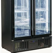 Rhino Commercial Upright 1 Door Pub Beer Bar Fridge - Electronic Control / Triple Glazed Tempered LOW E Glass